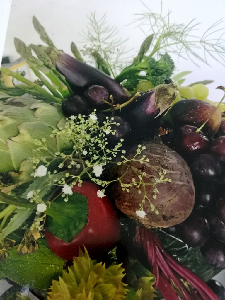 Vegetables bouquet